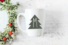 Peace Trees - Decorative Christmas Font Product Image 6