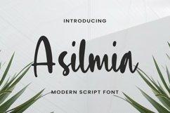 Web Font Asilmia Product Image 1