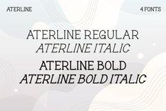 Aterline - Modern Slab Serif Product Image 6