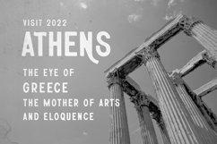 Athena | Rough Sans Serif Font Product Image 2