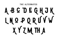 Athena | Rough Sans Serif Font Product Image 6