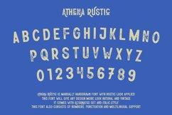 Athena Rustic | Handdrawn Rustic Sans Serif Font Product Image 2