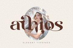 Athios - Elegant Typeface Product Image 1