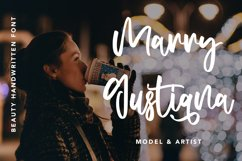 Attractive - Beauty Handwritten Font Product Image 5