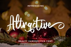 Attractive - Beauty Handwritten Font Product Image 1