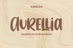 Aurellia Handwritten Font Product Image 1