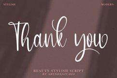 Austyn - Beauty Stylish Script Product Image 4