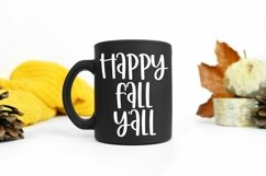Web Font Autumn Afternoons - A Quirky Handlettered Font Product Image 2