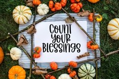 Web Font Autumn Afternoons - A Quirky Handlettered Font Product Image 4