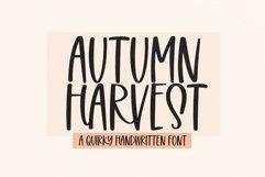 Web Font Autumn Harvest - Fun Handwritten Font Product Image 1