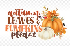 Fall Sublimation Bundle - Fall PNG Sublimation - Autumn png Product Image 3