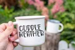 Web Font Autumn Morning - A Quirky Handlettered Font Product Image 2