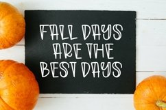 Web Font Autumn Morning - A Quirky Handlettered Font Product Image 4