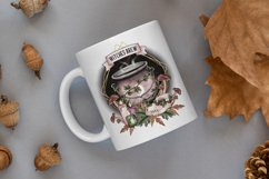 Witchy sublimation bundle - 6 x witch sublimation designs Product Image 3