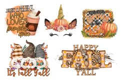 Fall Sublimation Bundle - Fall PNG Sublimation Product Image 3