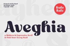 Aveghia Display Serif Font Product Image 1