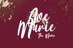 Avellionts Script Display Font Product Image 5