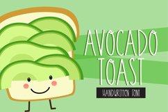 Avocado Toast Handwritten Font TTF OTF Desktop Font