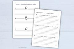 Lifetime goals   printable goal planner. Product Image 3