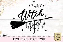 Basic Witch SVG Product Image 1
