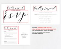 RSVP cards, TOS_42 Product Image 5