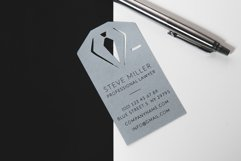 Lawyer business card template cutting file Product Image 1