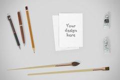 Horizontal invitation mockup CREATOR Product Image 3