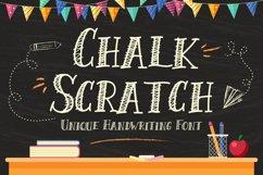 Chalk Scratch Font Product Image 1