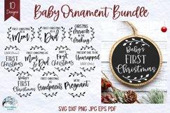 Mega Christmas Ornament SVG Bundle 6 | Round Christmas SVGs Product Image 4