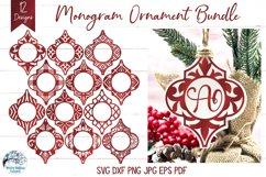 Mega Ornament SVG Bundle 3   Arabesque Christmas Ornaments Product Image 6