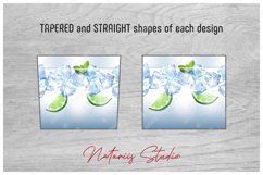 10 Realistic Drinks Patterns for 20oz SKINNY TUMBLER. Product Image 4