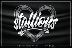 Stallions, Stallions Mascot, Stallions Pride SVG Product Image 1