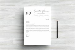 Minimalist Resume Template Product Image 4