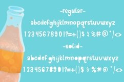Doodle pop - a cute interchangeable lowercase font duo Product Image 6