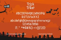 Halloween Trick or Treat - Spooky Quirky Font Product Image 5