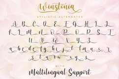 Winstonia | A Modern Calligraphy Font Product Image 6