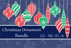Christmas toys, Christmas ornament svg Product Image 1