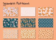 Funny Cats and Flowers clipart set Product Image 5