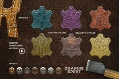 Leather Layer Styles For Photoshop Product Image 2