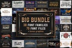 Big fonts bundle Product Image 1
