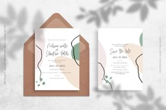 Abstract Artist Wedding Invitation Suite Product Image 2