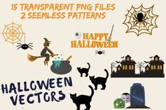 Halloween SVG- Pumpkin, Houses, Witch, Trees, Spider, Ghost Product Image 3
