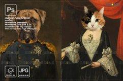 Royal Pet Portrait templates vol.20, Digital pet art Product Image 3
