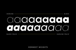 Konnect Font Family Product Image 6