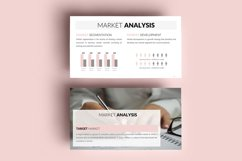 PPT Template   Business Plan - Pink and Marble Product Image 8