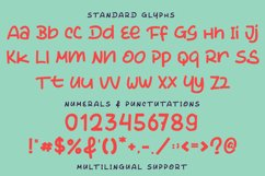 The Dinosaur - Cute Display Font Product Image 4