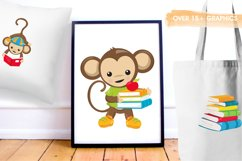 Monkey Students graphics and illustrations Product Image 5