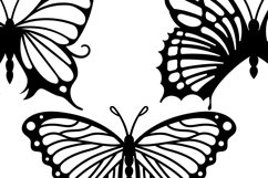 Butterflies Clip Art | Vector files Product Image 2