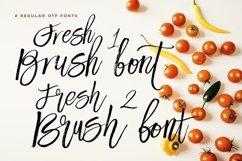Fresh Brush Font Product Image 2