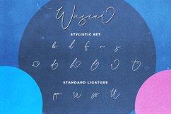 Wascer Modern Script Brush Font Product Image 5